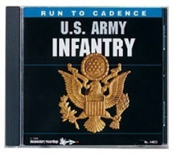 Run To Cadence U.S. Army Infantry CD