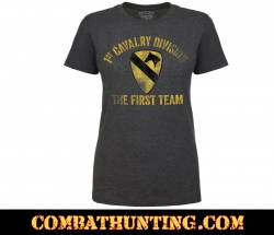 1st Cavalry First Team Women's Soft Spun T-shirt