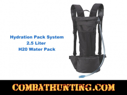 2.5 Liter Back Pack Hydration System