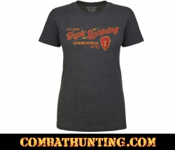 25th Infantry Tropic Lightning Women's Soft Spun T-shirt