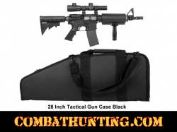 Black 28 Inch Tactical Gun Case