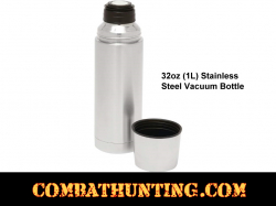 Stainless Steel Vacuum Bottle 32oz (1L)