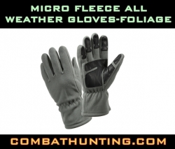 Micro Fleece All Weather Gloves Foliage