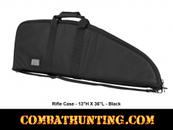 Black Tactical Rifle Gun Case 36""