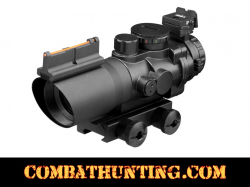 Prismatic 4x32 Rifle Scope With Fiber Optic Sight TRI ILL