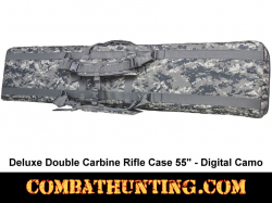 Double Tactical Rifle Case 55 Inches Digital Camo