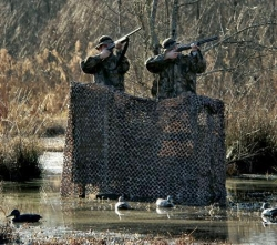 Ultra-Lite Camo Net Large Blind With Backing