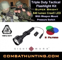 Sightmark H840 Triple Duty Tactical Flashlight Kit