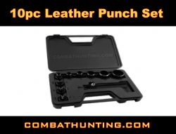 10pc Leather Punch Set Medium & Large Punches