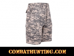 ACU Digital Camo BDU Military Shorts