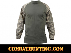 ACU Digital Camo Military FR NYCO Combat Shirt