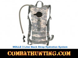 3 Liter ACU Digital Back Hydration Systems