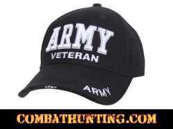 ARMY Veteran Hat Deluxe Low Profile