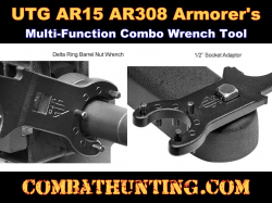 AR15/AR308 Armorer's Multi-Function Combo Wrench