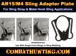 AR-15/M4 End Plate Sling Mount Adapter