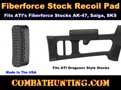 Sks Ak Rifle Fiberforce Stock Buttpad ATI