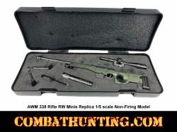 AWM .338 Sniper Rifle RW Minis Replica 1/5 Scale Non-Firing Model