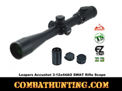 Leapers Accushot 3-12x44AO SWAT Rifle Scope