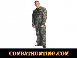 Air Force Flight Suit Woodland Camo