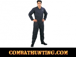 Air Force Military Style Flight Suit Navy Blue