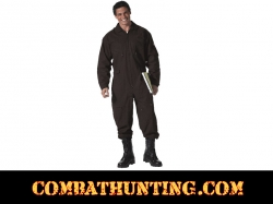 Air Force Style Military Flight Suit Black
