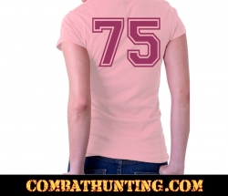 Women's Army Pink ladys T-Shirt