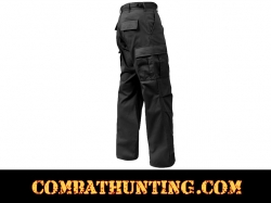 Black Military BDU Fatigue Pants