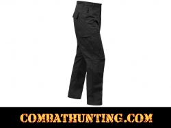 Black Rip Stop BDU Pants