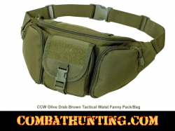 Concealed Carry Fanny Pack Waist Pack Olive Drab