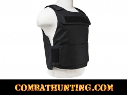 Ncstar Discreet Plate Carrier Vest Low Profile Swat Black