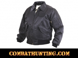 Rothco CWU-45P Flight Jacket - Black