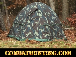 Rothco Camo 3-Man Hexagon Dome Tent Woodland Camouflage