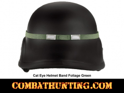 Cat Eye Helmet Band GI Style Foliage Green