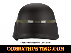 Cat Eye Helmet Band GI Style Olive Drab