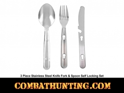 Chow Kit 3 Piece Stainless Steel Eating Utensils
