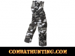 City Camo Vintage Camo Paratrooper Fatigue Pants