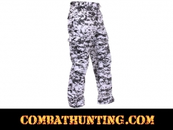 City Digital Camo BDU Pants