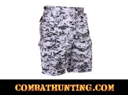 City Digital Camo BDU Military Shorts