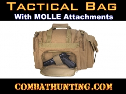Tactical Concealed Carry Bag With MOLLE Coyote Brown