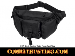 Concealed Carry Fanny Pack Black