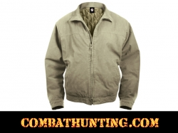 Rothco 3 Season Concealed Carry Jacket In Khaki