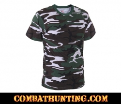 Concrete Jungle Camo T-Shirts