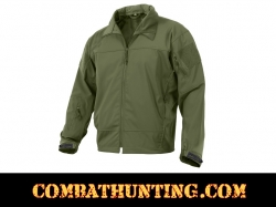 Rothco Covert Ops Light Weight Soft Shell Jacket Olive Drab