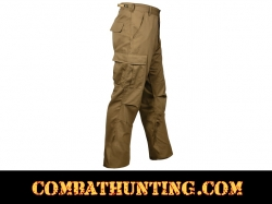 Coyote Brown Military BDU Fatigue Pants