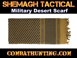 Coyote Brown Shemagh Tactical Military Desert Scarf