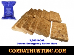 Datrex Blue Ration 3600 Calorie Emergency Food Ration 1Pack