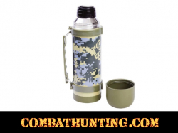 Digital Camo Vacuum Bottle 1 Liter / 33 oz