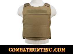 Ncstar Discreet Plate Carrier Vest Low Profile Tan