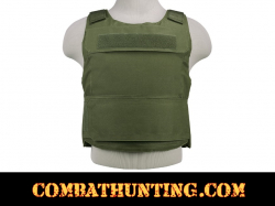 Ncstar Discreet Plate Carrier Vest Low Profile Green