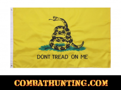 Deluxe Don't Tread On Me Flag 3' X 5'